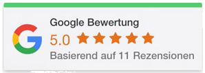 Google Bewertungen Baufinanzierung mit RCK
